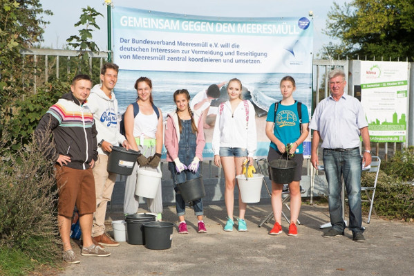 Coastal Cleanup Day 2016 in Kiel