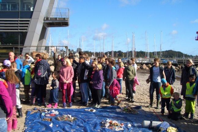 Coastal Cleanup 2017 in Eckernförde